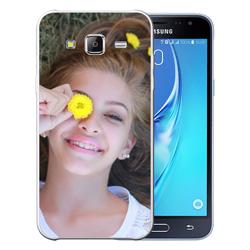 Capinha de Celular Samsung Galaxy J3 2016 - 1 unidade - 71x140mm em PS Transparente  - 4x0 - Sem Cobertura -  (cód. 19568)