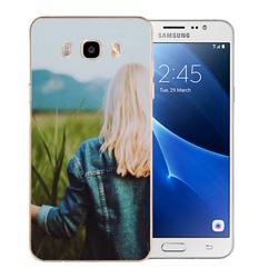 Capinha de Celular Samsung Galaxy J5 Metal - 1 unidade - 72x142mm em PS Transparente  - 4x0 - Sem Cobertura -  (cód. 19556)