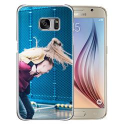 Capinha de Celular Samsung Galaxy S6 - 1 unidade - 69x140mm em PS Transparente  - 4x0 - Sem Cobertura -  (cód. 19477)