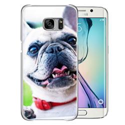 Capinha de Celular Samsung Galaxy S6 Edge - 1 unidade - 69x140mm em PS Transparente  - 4x0 - Sem Cobertura -  (cód. 19471)
