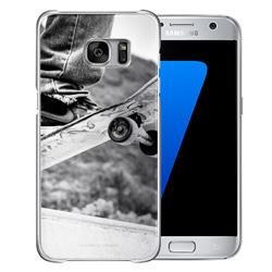 Capinha de Celular Samsung Galaxy S7 - 1 unidade - 68x140mm em PS Transparente  - 4x0 - Sem Cobertura -  (cód. 19457)