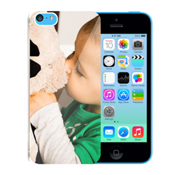 Capinha de Celular Apple iPhone 5c - 1 unidade - 58x122mm em PS Transparente  - 4x0 - Sem Cobertura -  (cód. 19414)