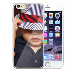 Capinha de Celular Apple iPhone 6 Plus - 1 unidade - 76x155mm em PS Transparente  - 4x0 - Sem Cobertura -  (cód. 19395)