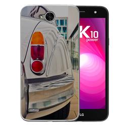 Capinha de Celular LG K10 Power Dual - 1 unidade - 80x152mm em PS Transparente  - 4x0 - Sem Cobertura -  (cód. 19652)