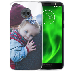 Capinha de Celular Motorola Moto G6 - 1 unidade - 151x71mm em PS Transparente  - 4x0 - Sem Cobertura -  (cód. 21165)