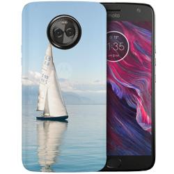 Capinha de Celular Motorola Moto X4 - 1 unidade - 76x147mm em PS Transparente  - 4x0 - Sem Cobertura -  (cód. 20306)
