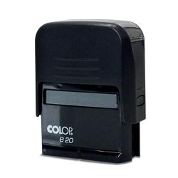 Carimbo Colop Economy 20 - 1 unidade - 14x36mm em Plástico  - 1x0 -  - Personalizado (cód. 24168)