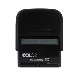 Carimbo Colop Economy 30 - 1 unidade - 17x46mm em Plástico  - 1x0 -  - Personalizado (cód. 20888)