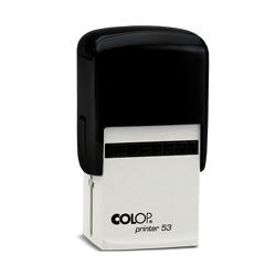 Carimbo Colop Printer 53 - 1 unidade - 29x44mm em Plástico  - 1x0 -  - Personalizado (cód. 20891)