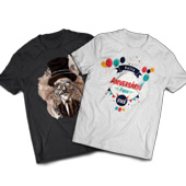 Kit de Amostra Camisetas
