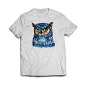 Camiseta_branca - 615x480mm em Algodão 100g - 4x0 - Estampa A4 Fosca - Meio-Corte Personalizado