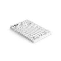 Bloco - 100 unidades - 74x105mm em Sulfite 75g - 1x0 - Sem Cobertura - Blocagem 100x1 Via (cód. 10283)