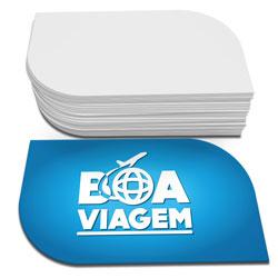 Cartão de Visita - 100 unidades - 48x88mm em Couché Fosco 300g - 4x0 - Laminação Fosca Frente - Corte Folha (cód. 3816)