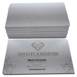Cartão de Visita - 100 unidades - 48x88mm em Platinum 300g - 4x0 - Sem Cobertura - 2 Cantos Arredondados (cód. 3226)