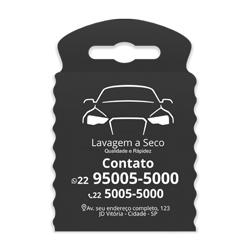 Lixeira para Carro Impressão em Branco - 100 unidades - 175x260mm em TNT Preto   - 1x0 - Sem Cobertura - Impressão em Branco (cód. 23355)