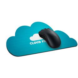 Mouse Pad Personalizado - 100 unidades - 175x230mm em EVA Preto 3mm  - 4x0 - Laminação Jateada - Faca Personalizada (cód. 2725)