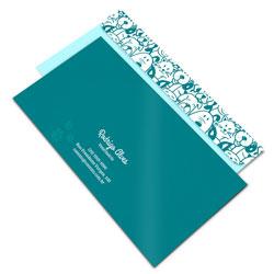 Envelope Ofício - 113x230mm em Sulfite 90g - 4x0 - Sem Cobertura - Faca Padrão