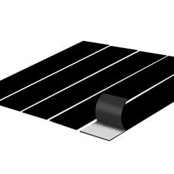 Manta Magnética Adesivada Tiras - 1.000 unidades - 10x77mm em Manta Magnética 0,3mm  - Sem impressão - Sem Cobertura - Sem Acabamento (cód. 14193)