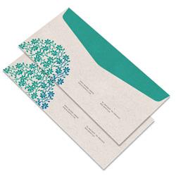 Envelope Ofício - 10.000 unidades - 115x230mm em Reciclato 90g - 4x0 - Sem Enobrecimento - Faca Padrão (cód. 11397)