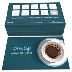 Cartões de Visita - 200 unidades - 48x88mm em Couché Brilho 250g - 4x4 - Sem Cobertura -  (cód. 22807)