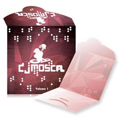 Envelope CD e DVD com Encaixe - 200 unidades - 125x125mm em Couché Brilho 250g - 4x4 - Laminação Fosca Frente e Verso - Faca Padrão (cód. 11054)