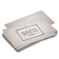Postal - 200 unidades - 98x178mm em Reciclato 240g - 4x0 - Sem Cobertura -  (cód. 8862)
