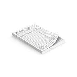 Blocos 100x1 - 74x105mm em Sulfite 75g - 1x1 - Sem Cobertura - Blocagem 100x1 Via