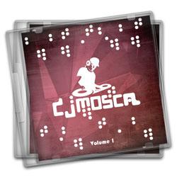 Encarte CD Simples - 25 unidades - 120x120mm em Couché Brilho 150g - 4x1 - Sem Cobertura -  (cód. 11189)