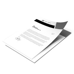 Folhetos - 210x297mm em Sulfite 75g - 1x0 - Sem Cobertura -