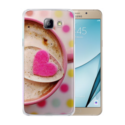 Capinha de Celular Samsung Galaxy A9 - 5 unidades - 80x159mm em PS Transparente  - 4x0 - Sem Cobertura -  (cód. 19491)