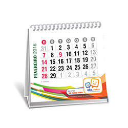 Calendário de Mesa 12 Páginas
