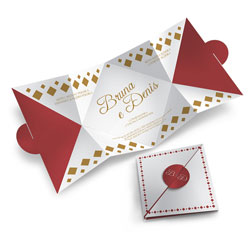 Convite de Casamento Especial 03