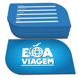 Cartões de Visita - 48x88mm em Couché Fosco 300g - 4x4 - Laminação Fosca Frente e Verso - Corte Folha