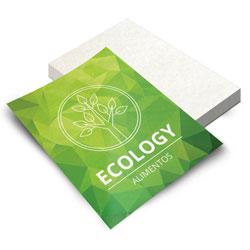 Folheto - 500 unidades - 148x210mm em Reciclato 90g - 4x0 - Sem Cobertura -  (cód. 5561)