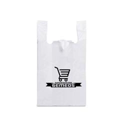 Sacola Plástica em Polietileno com Alça Camiseta