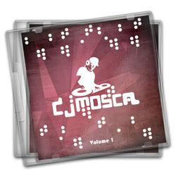 Encarte CD Simples - 5.000 unidades - 120x120mm em Couché Brilho 150g - 4x0 - Verniz Total Brilho F/V -  (cód. 11170)