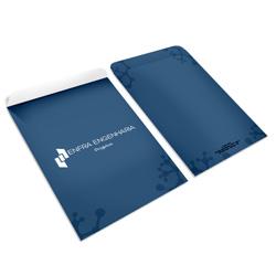 Envelope Saco - 260x360mm em Sulfite 90g - 4x0 - Sem Cobertura - Faca Padrão