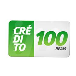 Crédito Pré-Pago R$ 100,00