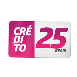 Crédito Pré-Pago R$ 25,00