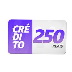 Crédito Pré-Pago R$ 250,00