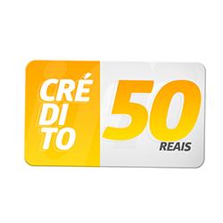 Crédito Pré-Pago R$ 50,00
