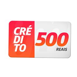 Crédito Pré-Pago R$ 500,00
