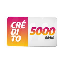 Crédito Pré-Pago R$ 5000,00