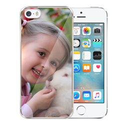 Capinha de Celular Apple iPhone 5s - 1 unidade - 58x123mm em PS Transparente  - 4x0 - Sem Cobertura -  (cód. 19408)