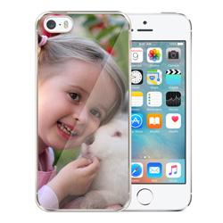 Capinha de Celular Apple iPhone 5s - 1 unidade - 58x123mm em PS Transparente  - 4x0 - Sem Enobrecimento -  (cód. 19408)