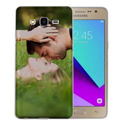Capinha de Celular Samsung Galaxy J2 Prime - 1 unidade - 72x141mm em PS Transparente  - 4x0 - Sem Cobertura -  (cód. 19574)