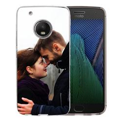 Capinha de Celular Motorola Moto G5 Plus - 1 unidade - 72x144mm em PS Transparente  - 4x0 - Sem Cobertura -  (cód. 19604)