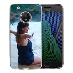 Capinha de Celular Motorola Moto G5S Plus - 1 unidade - 75x149mm em PS Transparente  - 4x0 - Sem Cobertura -  (cód. 19610)
